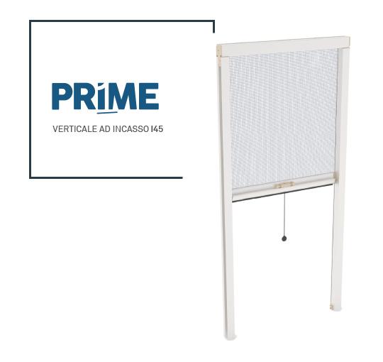 zanzariera Prime ad incasso verticale I45